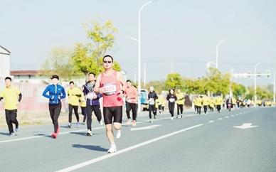 五百市民参加开发区长跑节